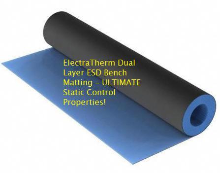 Heat Resistant Esd Bench Top Matting