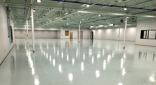 ESD flooring for Electronic Manufacturing